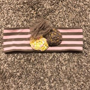 girl's mustard pie headband